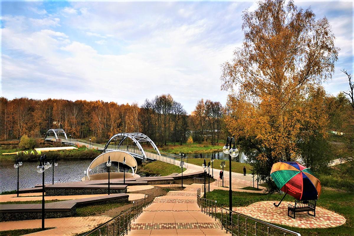 Проект: освещение Демьяновского парка - Svetilniki-Opory