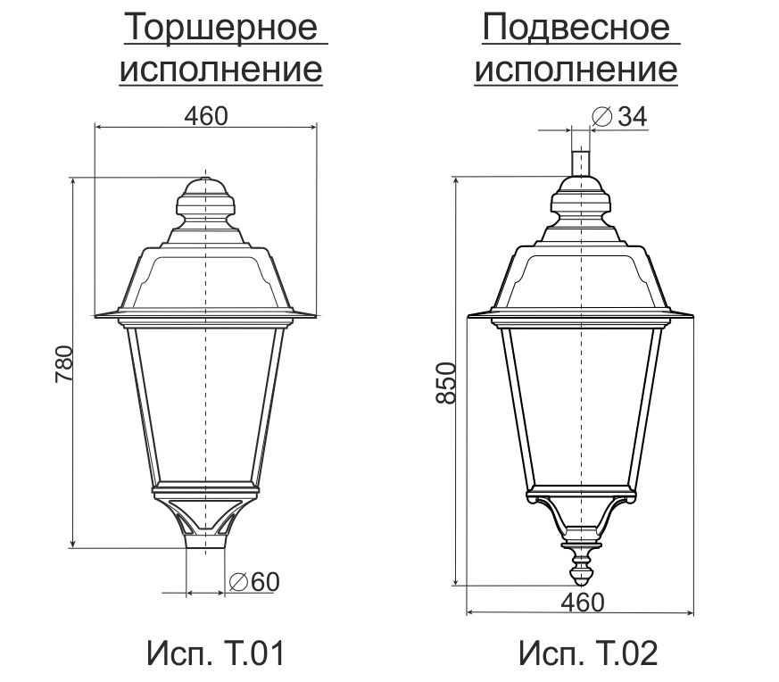 Светильники серии V.14 2