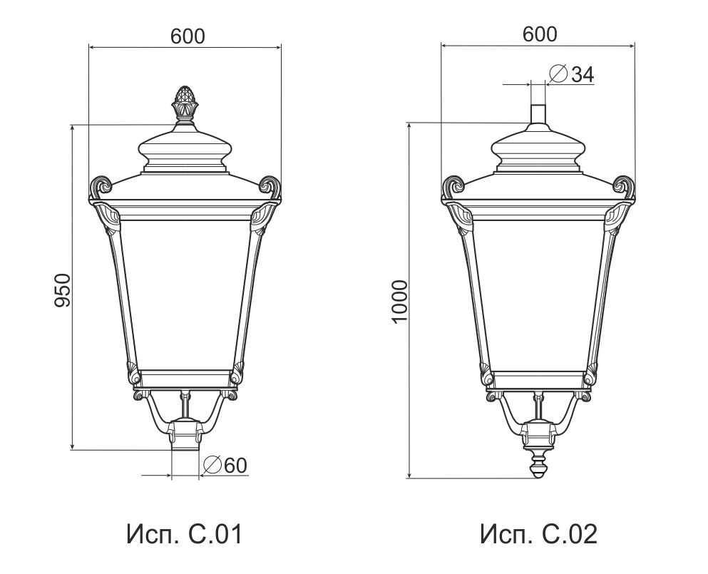 Светильники серии V.17 2