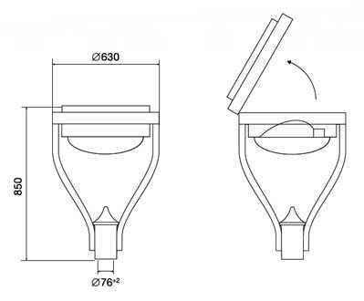 Светильники серии V.43 (V.46 и V.50) 1