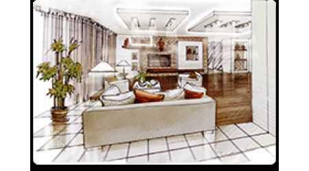 Дизайн-проект интерьера - заказать в Москве от производителя Svetilniki-Opory