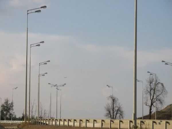 Проект: освещение в Московской области, г. Дубна, дорога Дубна-Кимры - Svetilniki-Opory